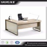 Oficina moderna Diseño Ejecutivo de la mesa / escritorio de oficina con las piernas del metal