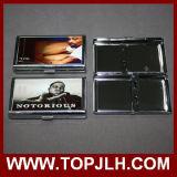 Capacidad 14PCS Sublimación de Transferencia de Metal Caja de cigarrillos de metal