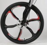 Aluminio de 26 pulgadas plegable la bici eléctrica con el borde integrado de la aleación del magnesio