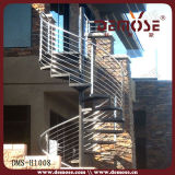 Escalera espiral del metal al aire libre de la industria (DMS-1003)
