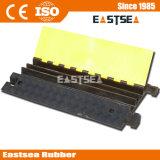 Black & Yellow Rubber 3 canali via cavo fissabile Hump