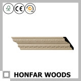Modanatura di legno della parte superiore di giro vita di legno della parete di alta qualità