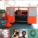 Machine en métal de fibre/en aluminium/en acier de laser de découpage