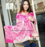 2017 가장 새로운 숙녀 Fashion Pashmina Shawl Ethnic 작풍 자카드 직물 스카프