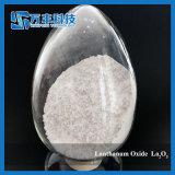 Óxido estable del lantano de la calidad La2o3 99.99% de la venta caliente para el vidrio