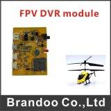 Gravador de vídeo de Quadcopter do zangão de Fpv, módulo ultra leve de 1CH SD DVR