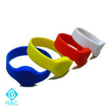 NFC NXP Ntag213 ISO14443AのブレスレットSiliconewristband