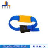 Wristband elegante modificado para requisitos particulares de la correa de RFID que teje para el hospital