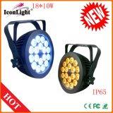 Indicatore luminoso esterno di PARITÀ di 18X15W RGBW+UV