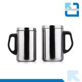 Taza del agua de taza de taza de café del acero inoxidable con la tapa