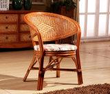 Tabella e presidenze di tè del rattan di stile di svago della mobilia del rattan