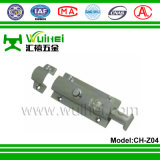 Boulon de chasse de porte en alliage de zinc avec ISO9001 (CH-Z04)