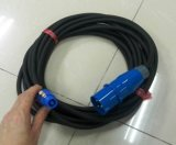 3X2.5mm Energien-Kabel mit 16A 3pin Steckern und Powercon