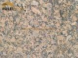 Плитка гранита желтого цвета гранита Giallo Fiorito бразильская золотистая
