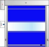 Дверь штарки ролика автоматического пакгауза быстрая с прозрачным окном