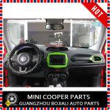 Garniture centrale de type vert matériel d'ABS d'accessoire automatique pour le modèle renégat (1PC/SET)