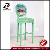 고아한 둥근 뒤 고무 목제 갱도지주 의자 어린이 식사용 의자