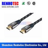 Разъем плиты золота кабеля HD1080p 24k HDMI