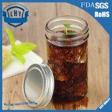 350ml Fles van het Glas van de Kop van de Jam van de Saus van de Kuiten van Luo Duitsland van de metselaar de Loodvrije