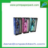 주문을 받아서 만들어진 PVC Windows 종이상자 향수 상자 장식용 포장 상자