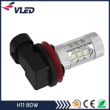 Nieuwe Arriving, de Mistlamp Car 750lm van LED Fog Light 7g 80W H8 H9 H11 LED