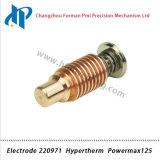 Electrode 220971 pour la découpe Powermax 125 Plasma Consommables torche