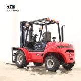 2.0-3.5 Diesel van de Vorkheftruck van het Terrein van de ton Ruwe Vrachtwagen met Motor Yanmar