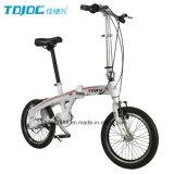 """한 쌍 여가 접히는 자전거 16 """" 소형 도시 자전거"""