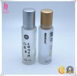 frasco de vidro do espaço livre do perfume 15ml com rolo e tampão