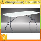 Tableau en plastique se pliant rectangulaire bon marché Jc-PT1602 de qualité extérieure de meubles