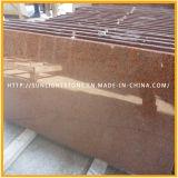 Mattonelle di pavimento di pietra rosse naturali del granito della Cina per la cucina/stanza da bagno