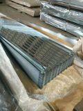 Preverniciato galvanizzato coprendo lo strato ondulato del tetto del metallo degli strati