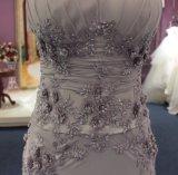 Новая оболочка прибытия/мать колонки серая платья вечера Bridesmaid