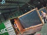 Customed 및 홈 또는 건물 장식적인 어두운 유럽 회색 플로트 유리 (C-UG)