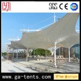 Q235 estructura de acero que el paraguas enorme tienda de la forma del paisaje