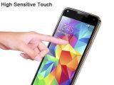 Samsung S5のための緩和されたガラスが付いている移動式アクセサリ9hの表面の硬度3Dの全中継の保護装置