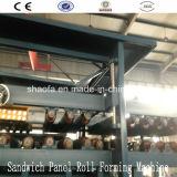 アフリカのためのEPSそして岩綿サンドイッチパネル機械