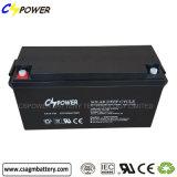Batterie exempte d'entretien de gel de 12V 150ah avec du ce, certificat du CEI