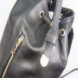 Zwart Pu Backback voor de Schooltassen van Meisjes, de Handtas van de Manier van Vrouwen