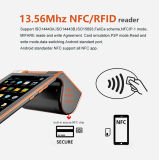 Zkc PC900 3G Dual Screen Android RFID Card Reader Machine com impressora Câmera WiFi NFC