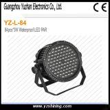 段階90PCS X3w RGBWはLEDの同価ライトを防水する