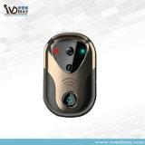 1.0MPホームセキュリティー720p WiFiのドアベルIPのカメラ