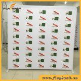 Stand portatif de drapeau de tissu de tension avec l'impression latérale simple