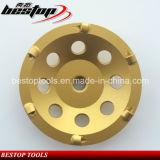 roda de moedura do diamante de 125mm PCD para o concreto Epoxy