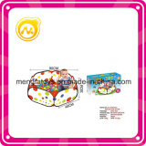 Interessante Indoor Kids Plastic Play Ball Pool com 50 PCS 6 Cm Ocean Ball