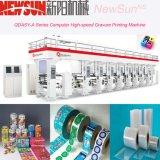 Stampatrice ad alta velocità automatizzata serie di incisione della pellicola del PVC di Qdasy-a