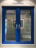 コンシュ60は二色の開き窓PVC/UPVCのWindows Co突き出た
