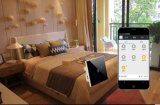 Commutateur à télécommande de contact de domotique de Zigbee de téléphone intelligent de système