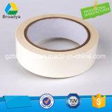 Hoja adhesiva fuerte de la cinta adhesiva echada a un lado doble con el papel del desbloquear