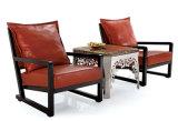 Presidenza di legno dell'hotel del cuoio domestico elegante della mobilia (HC016)